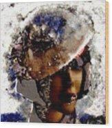 Art Vintage She Fragmented Wood Print