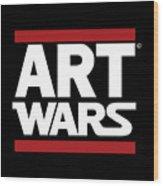 Art Wars Wood Print
