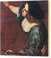 Artemisia Gentileschi Wood Print