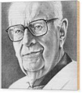 Arthur C. Clarke Wood Print