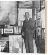 Arthur Conan Doyle Wood Print