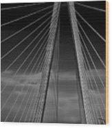 Arthur Ravenel Jr Bridge Wood Print