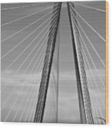 Arthur Ravenel Jr Bridge II Wood Print