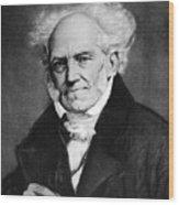 Arthur Schopenhauer Wood Print