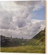 Arthurs Seat Edinburgh Wood Print