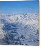 Artic Polar Circle Wood Print
