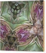 Artichoke Heart Wood Print