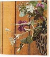 Artificial Beauty Wood Print