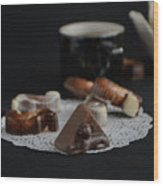 Artisanal Belgian Chocolate Wood Print