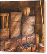 Artist - Assorted  Dyes  Wood Print