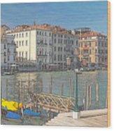 Artist Impression Of Venice Wood Print