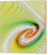 Artistic Spiral Wood Print