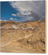 Artists Drive, Death Valley Wood Print