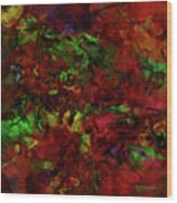 Artists Foliage Wood Print