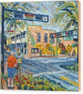 Artists on the Avenue Wood Print