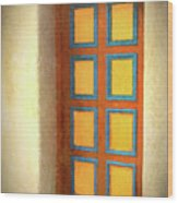 Arts Center Door Wood Print
