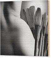 Artwork No. 2 Wood Print