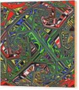 Artwork Ovoid Wood Print