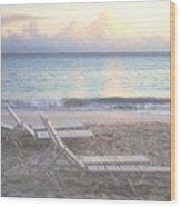 Aruba Beach Wood Print