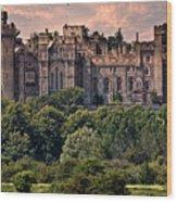 Arundel Castle Wood Print