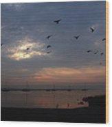 As Dawn Breaks Wood Print