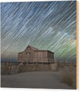 As The Stars Passed By  Wood Print