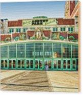 Asbury Park Convention Center Asbury Nj Wood Print