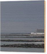 Asbury Park Skyline Wood Print