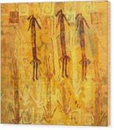 Ascendants And Descendants  Wood Print