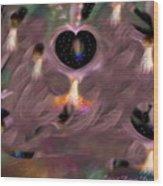 Ascension Angel Gateways Wood Print
