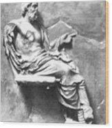 Asclepius Wood Print