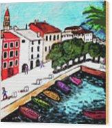 Ascona Imaginario Wood Print