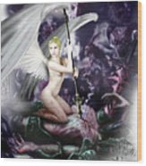 Asha - Godslayer Wood Print