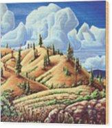Ashcroft Landscape Wood Print