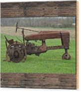 Ashes To Ashes - Rust To Rust Wood Print