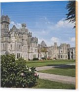 Ashford Castle, County Mayo, Ireland Wood Print