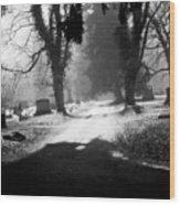 Ashland Cemetery Wood Print