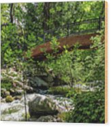 Ashland Creek Wood Print
