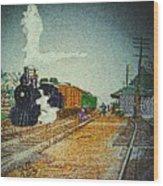 Ashland Station Wood Print