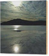 Ashokan Sunset Photograph Wood Print