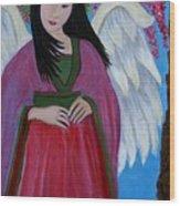 Asian Earthangel Tuyen Wood Print
