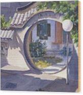 Asian Portal Wood Print