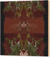 Asian Spice Three Wood Print