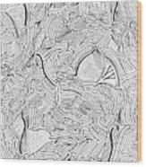 Askance Wood Print