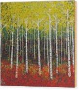 Aspen Bright Wood Print