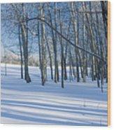 Aspen Delight Wood Print