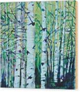Aspen Fall Wood Print
