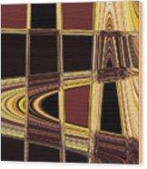 Aspen Grove Abstract Wood Print