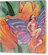 Asperity Wood Print