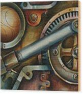 'assembled' Wood Print